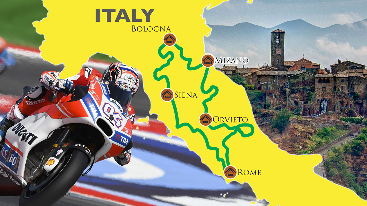 Thumb of Tour & Race Misano MotoGP and The Italian Ride